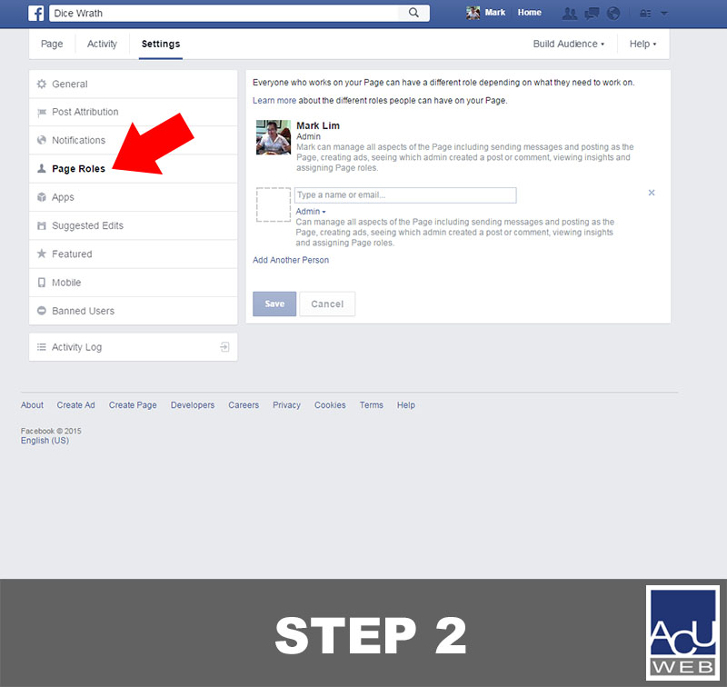 4 Easy Steps on How to Make Someone a Facebook Admin | ACU Web